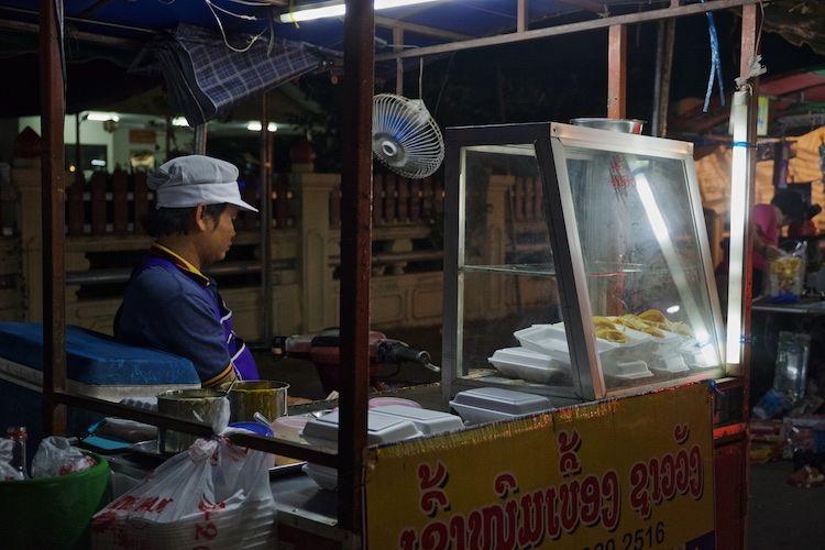 SEMARKETS 009 Food Stall Vientiane