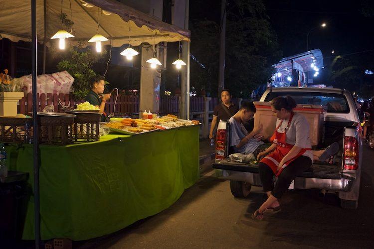 SEMARKETS 010 Food Stall Vientiane