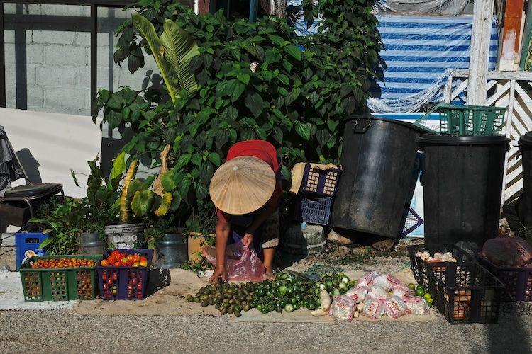 SEMARKETS 014 Street Stall Vientiane