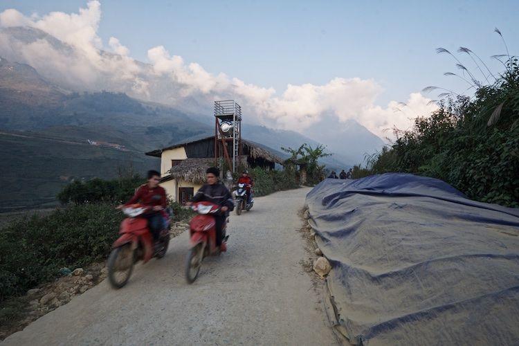 SESAP 016 Moto's on the Lao Chai, NW Vietnam