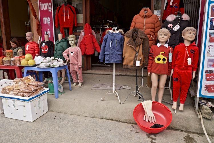 SESAP 030 Clothes shop, Sa Pa, Vietnam