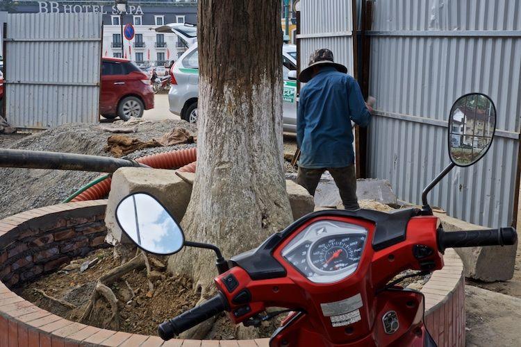 SESAP 036 Clearing up, Sa Pa, north Vietnam