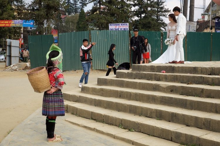 SESAP 039 Wedding photographs, Sa Pa, Vietnam