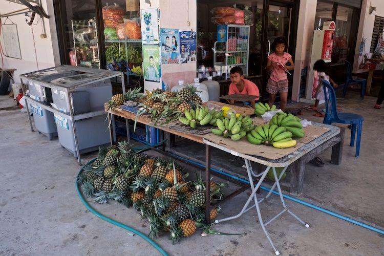 SESTREET 004 Fruit Stall Pataya Thailand