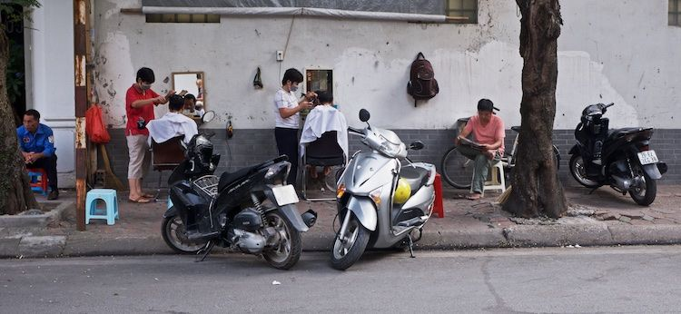 SESTREET 055 Barbers' Shop Hanoi