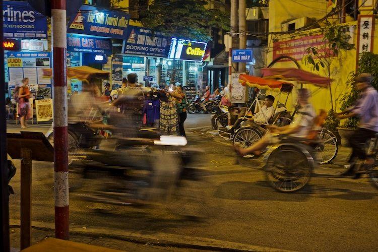 SESTREET 092 Bike Taxi's Hanoi Old Quarter