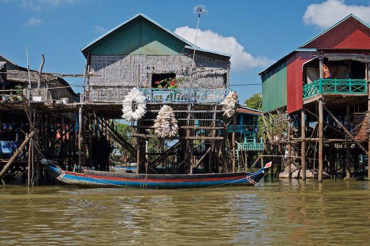 SEWATER 019 Kompong Phluk Village on the Tonle Sap, Cambodia