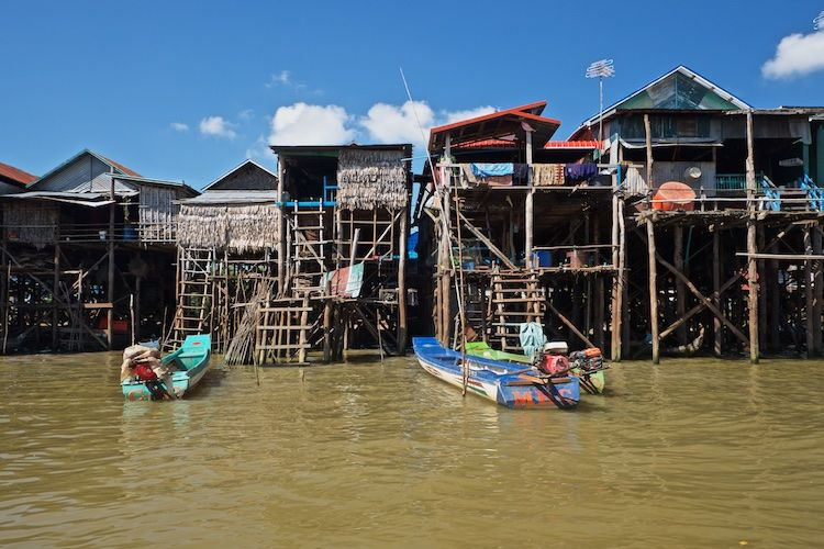 SEWATER 020 Kompong Phluk Village on the Tonle Sap, Cambodia