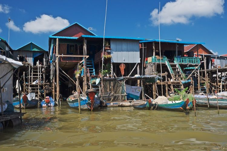 SEWATER 022 Kompong Phluk Village on the Tonle Sap, Cambodia