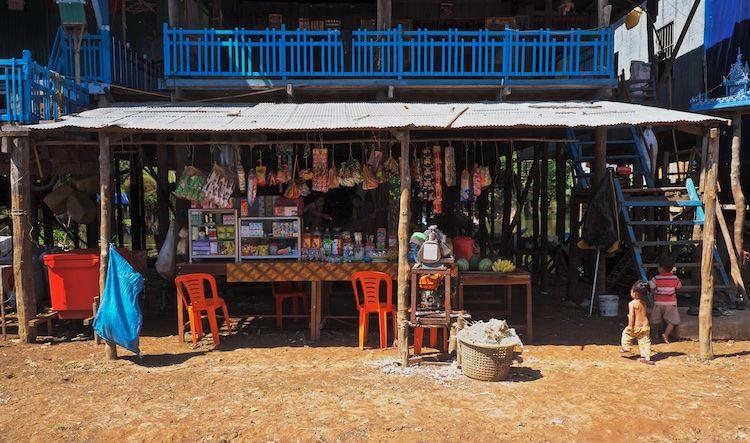 SEWATER 024 Kompong Phluk Village on the Tonle Sap, Cambodia