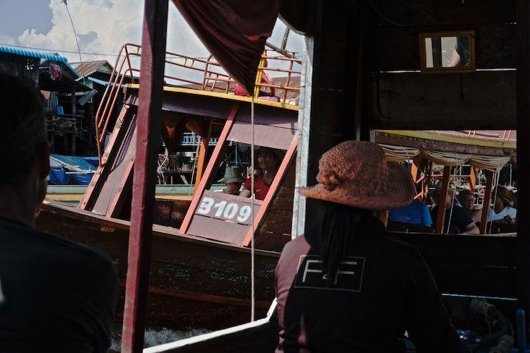 SEWATER 028 Tourist Boats on the Tonle Sap, Cambodia