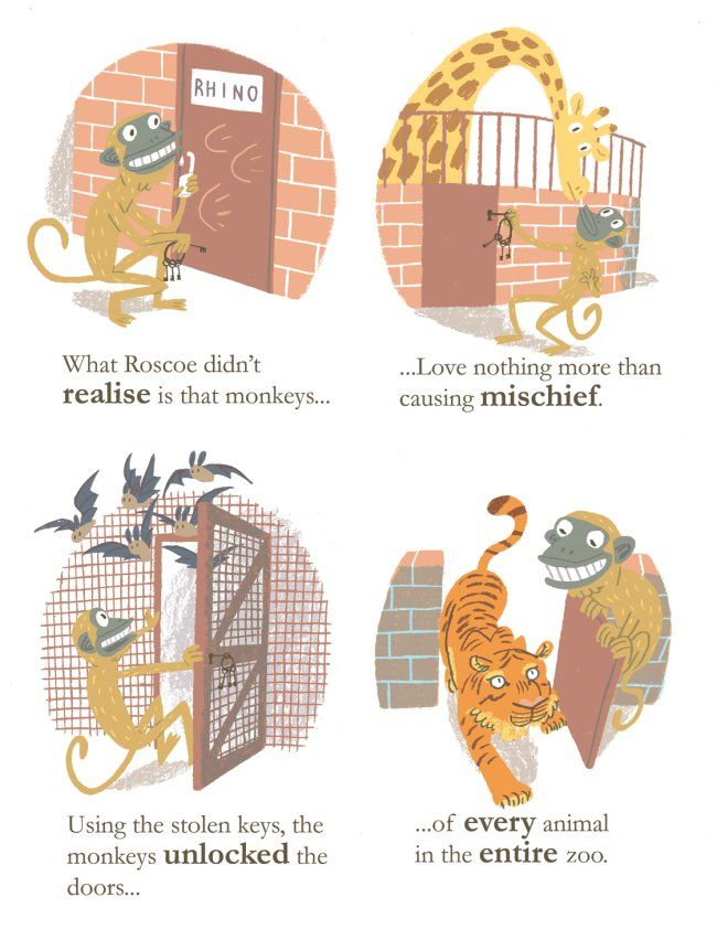 Hungry Roscoe. Published by Flying Eye Books.
