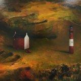 Distance Between Lovers / oil 100 x 70 cm