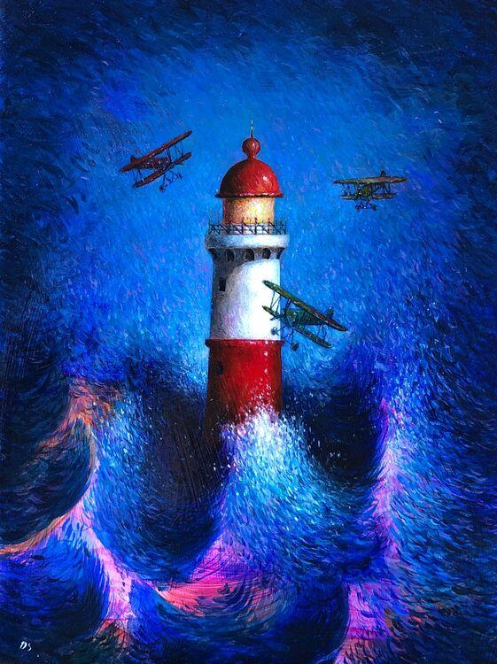 ' Illumination ' Oil on Panel 19 x 26 cm