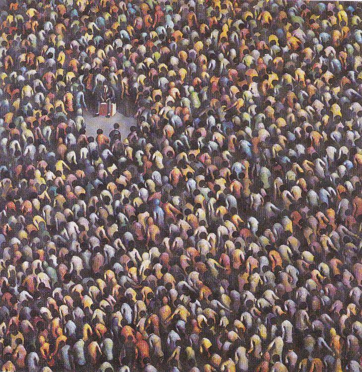 migration   /   oil on canvas   100 cm x 100cm