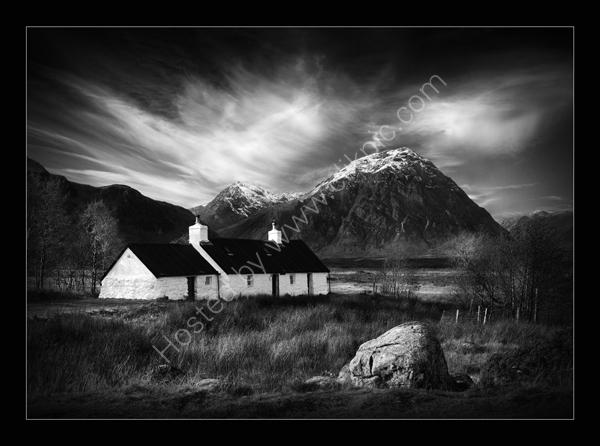 Black Rock Hut, Glencoe