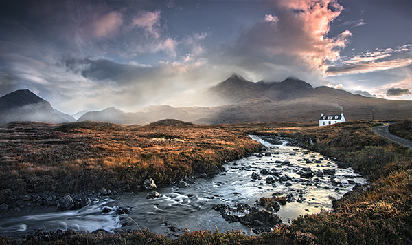 House below the Cuillins