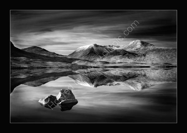 Loch on Rannoch Moor