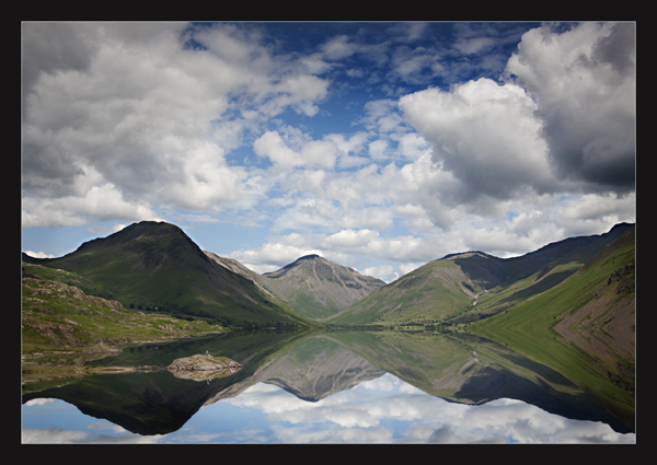 Wast Water reflections