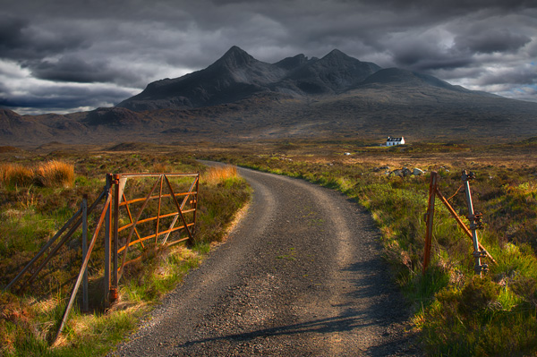The Cuillins from Sligachen