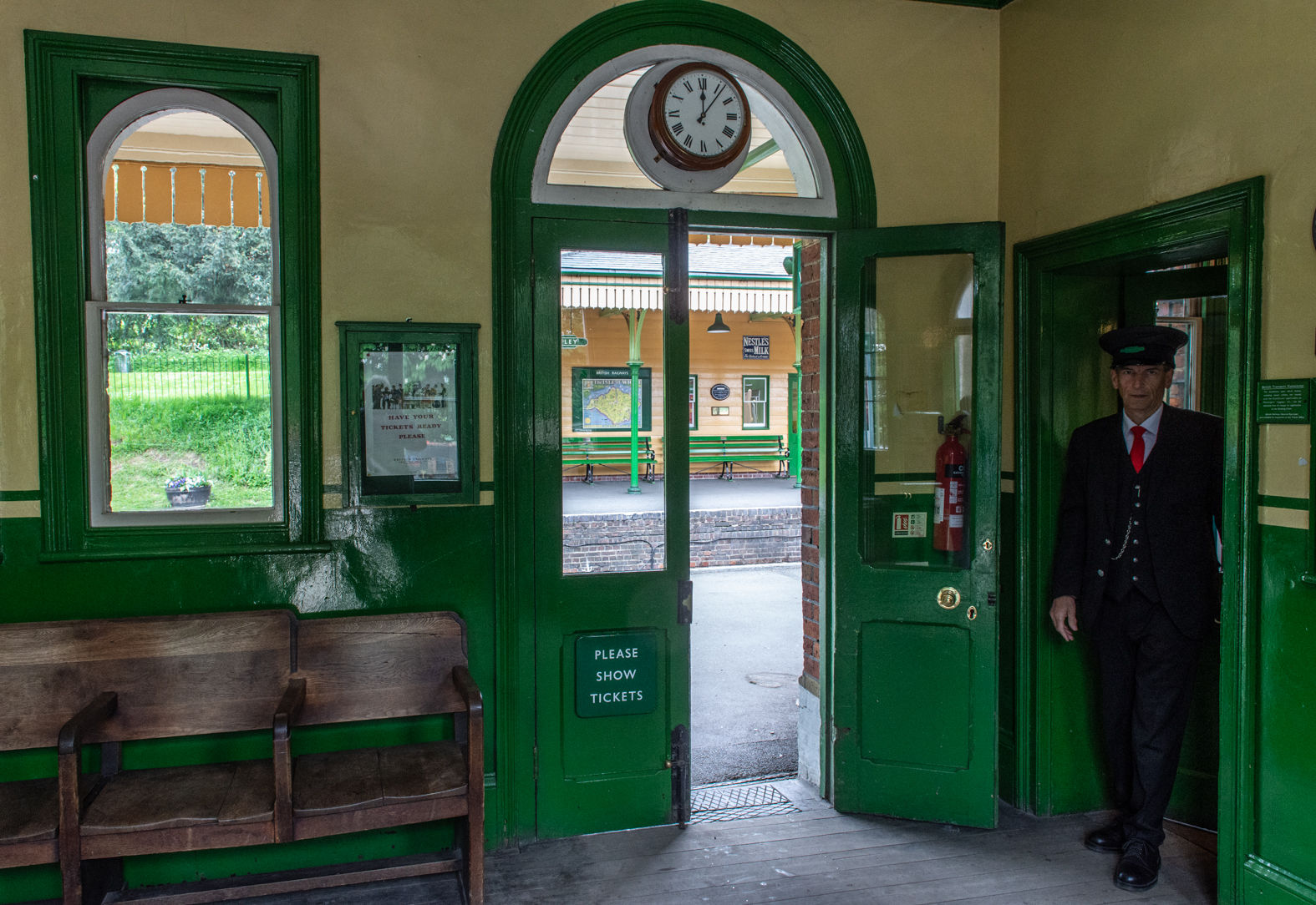 Ropley station, Watercress Line, Hampshire