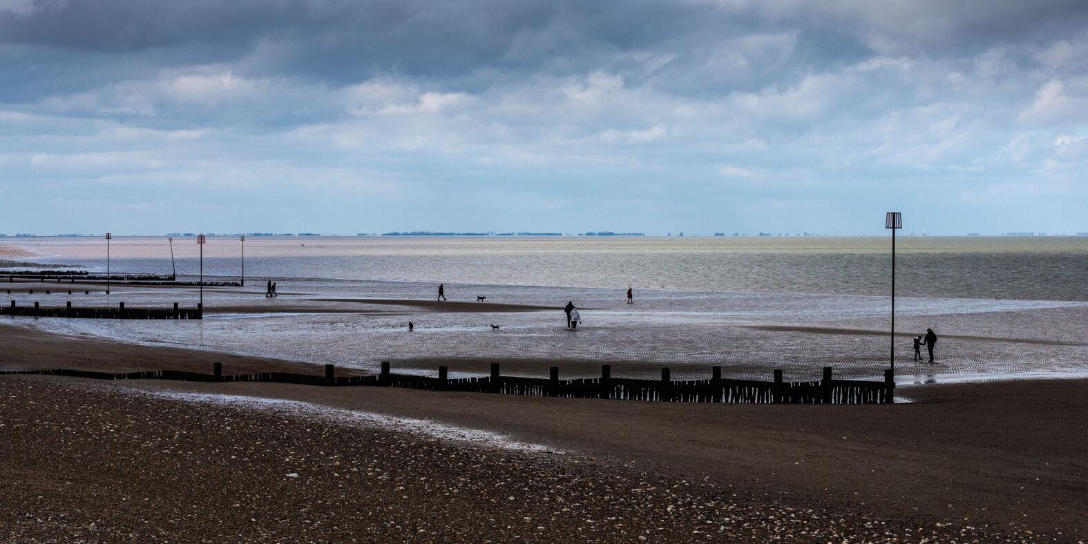 Low tide at Hunstanton, Norfolk