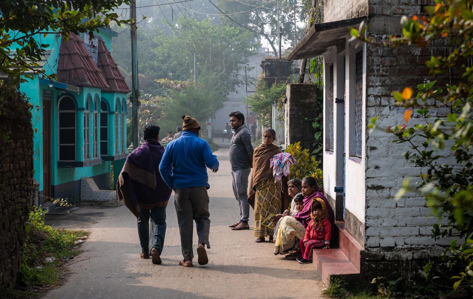 Village of Bawali, Bengal