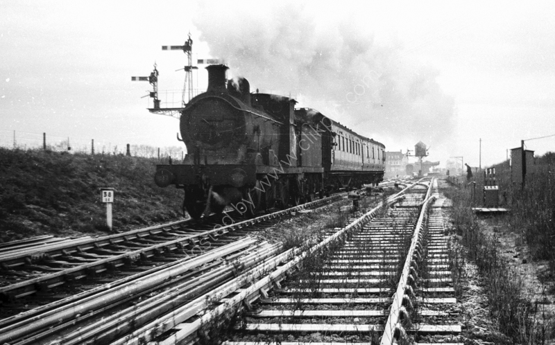 C Class 31689 leaving Allhallows on Sea, 1962