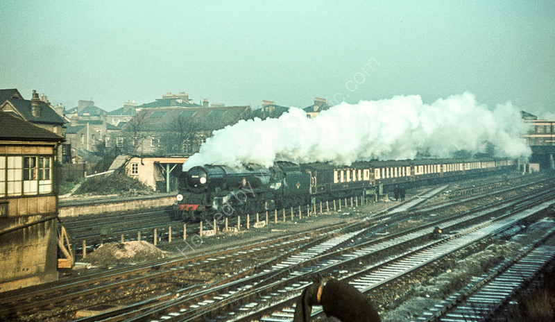 "Down ""Bournemouth Belle"" at Wimbledon, 1962"