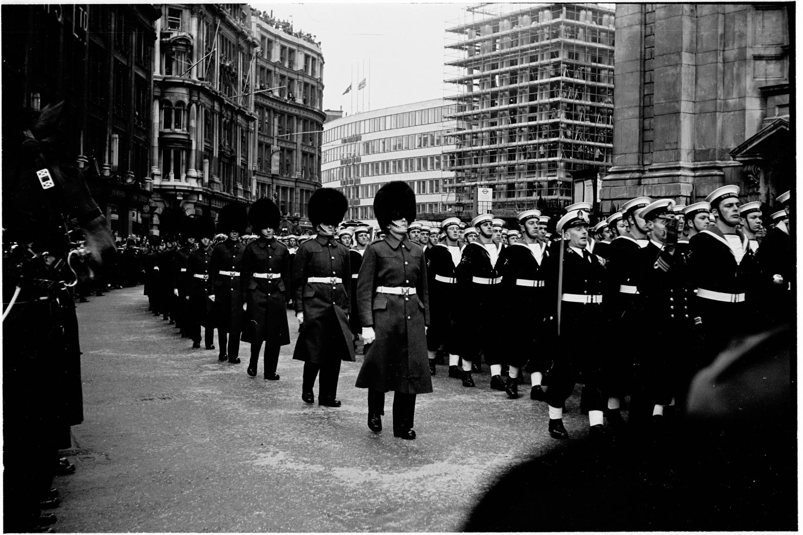 Winston Churchill's Funeral, St Paul's Cathedral