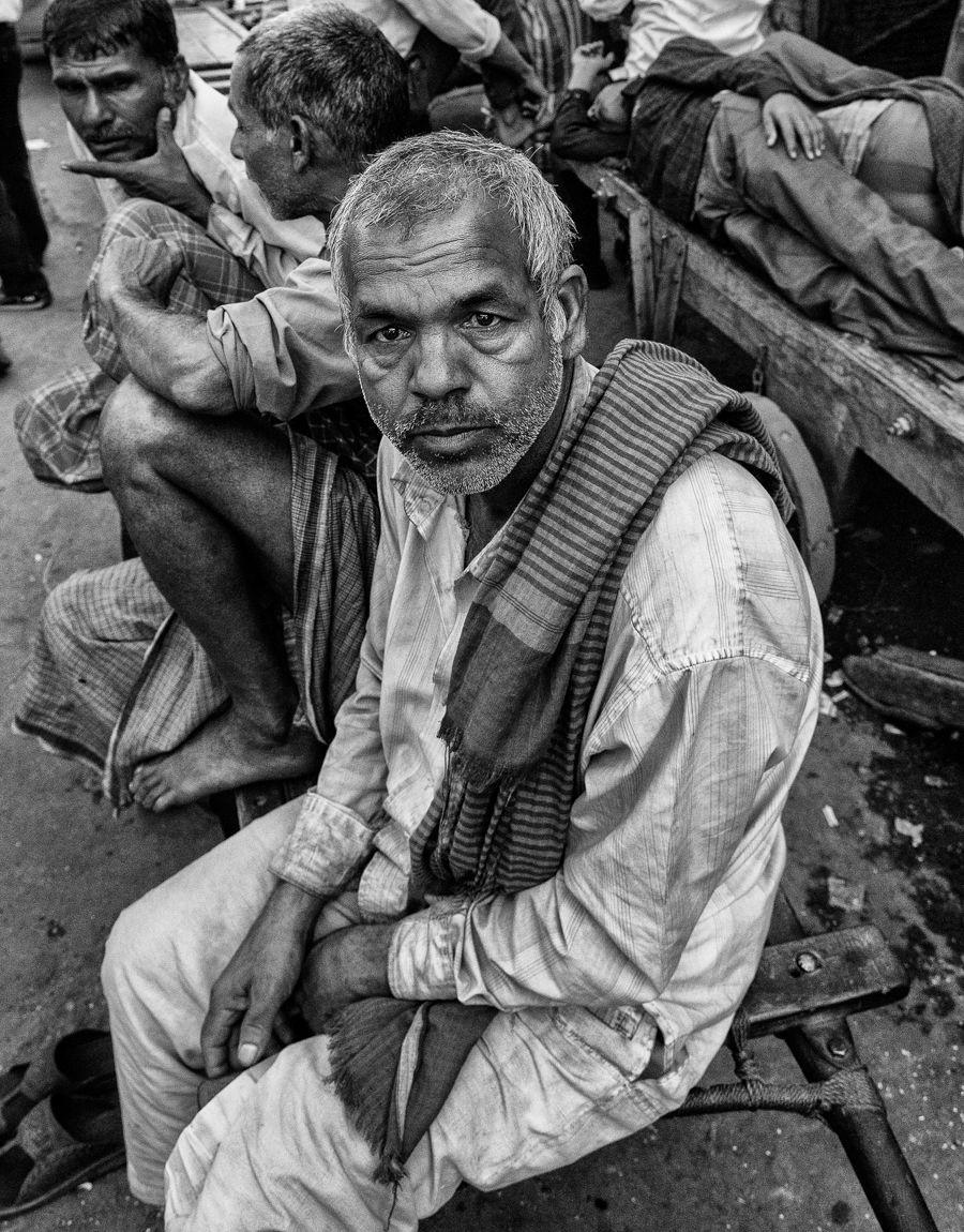 Market Porter, Chandni Chowk, Delhi, February 2013