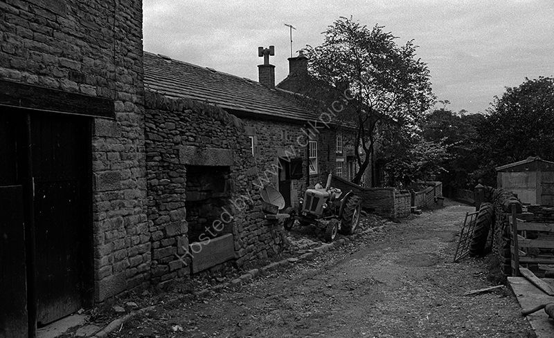 Farm buildings in Edale