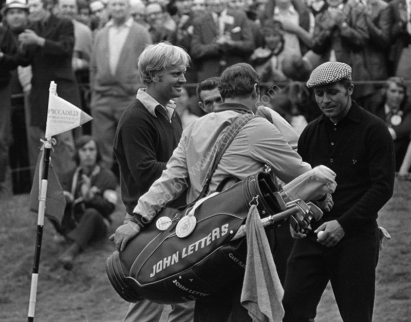 Jack Nicklaus and Gary Player, Wentworth, 1971