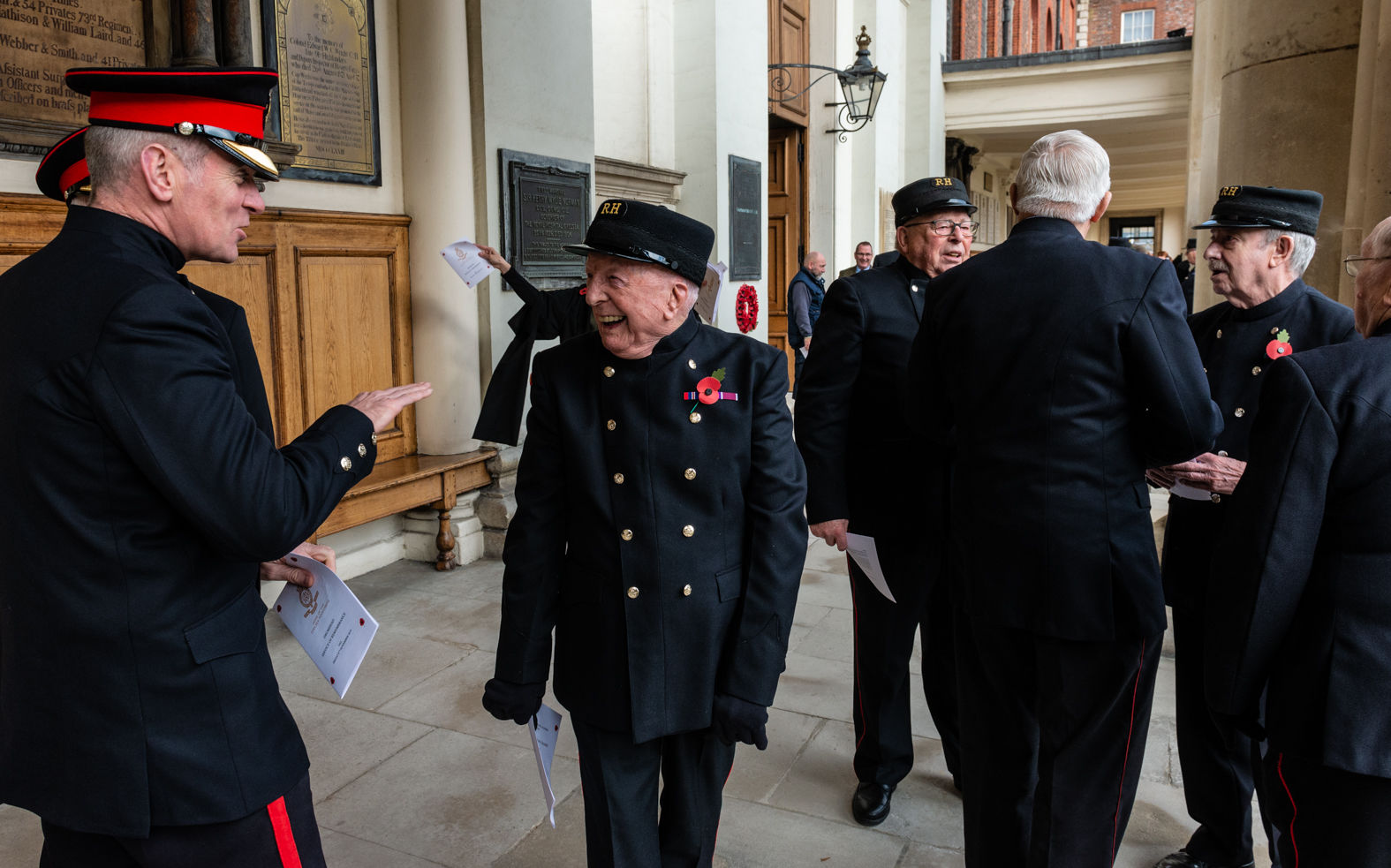 Military Conversations, Royal Hospital Chelsea