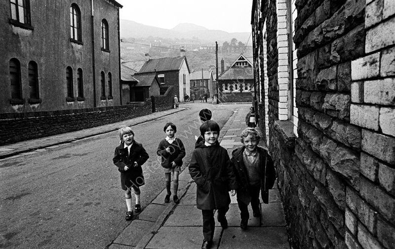 Kids in the street, Rhondda Valley