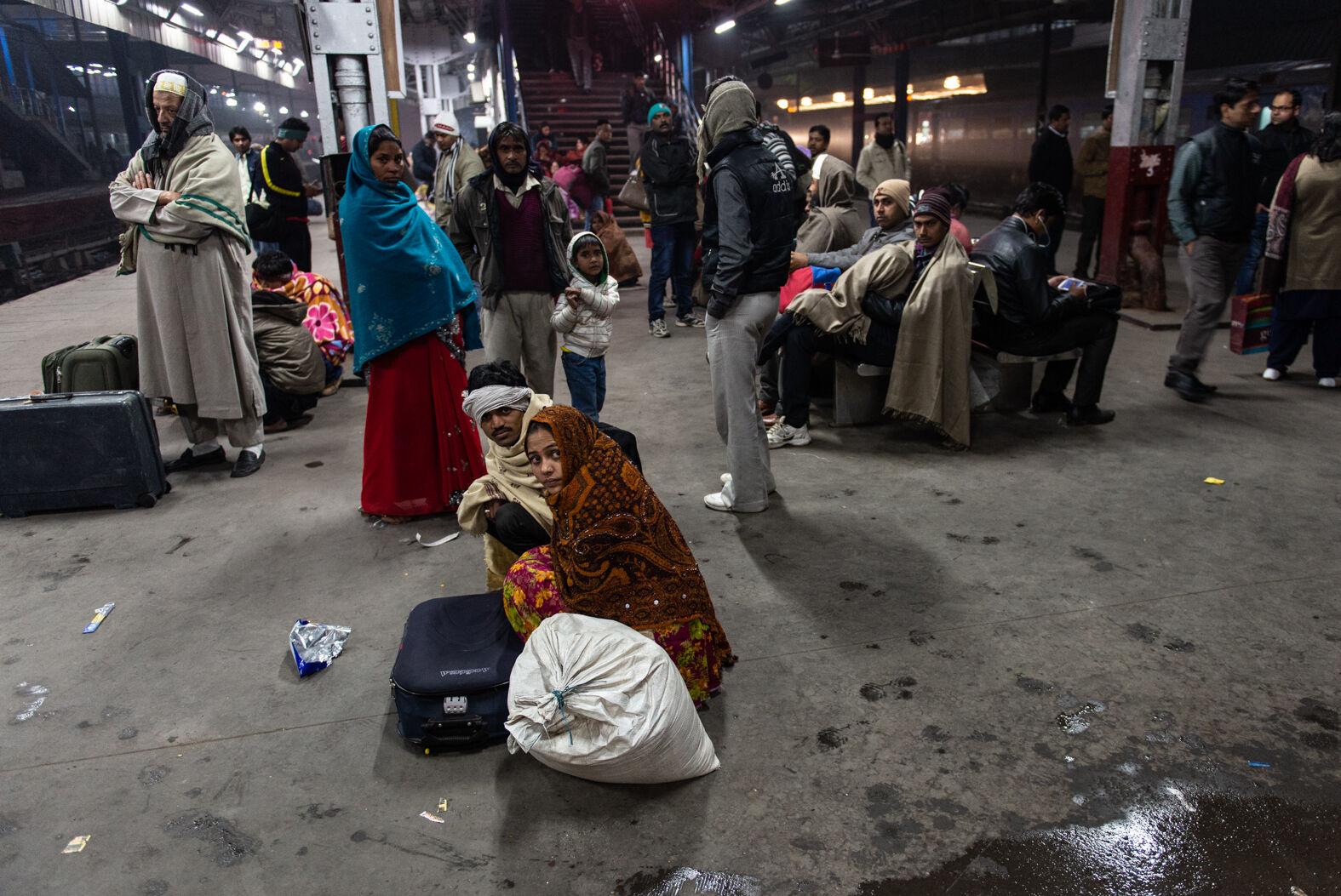 New Delhi Station, January 2014
