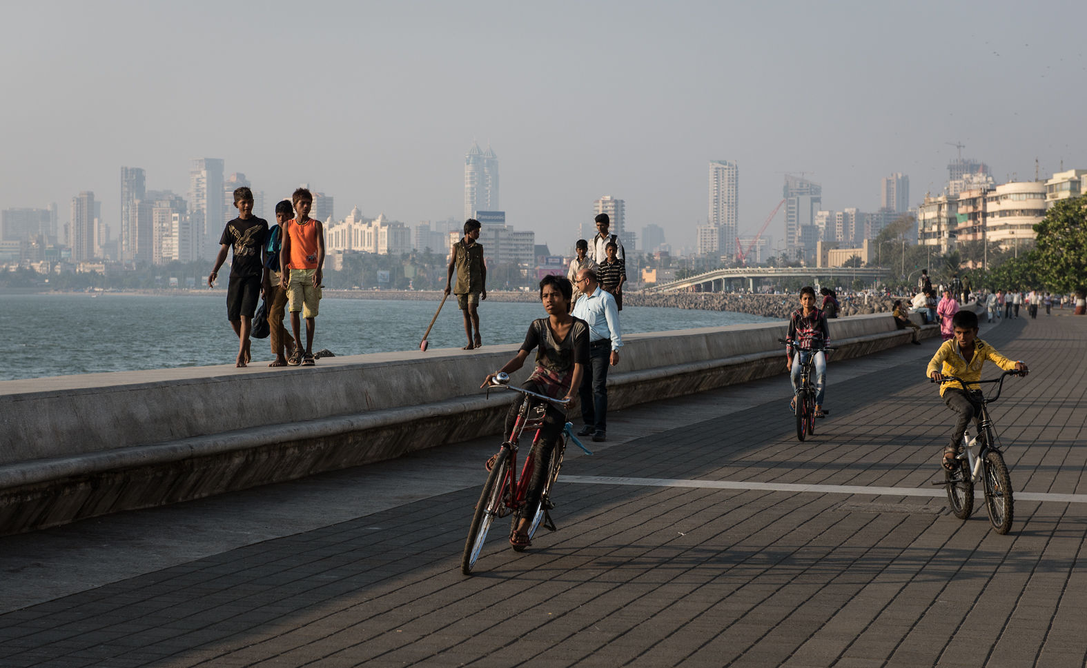 Marine Drive, Mumbai, February 2014