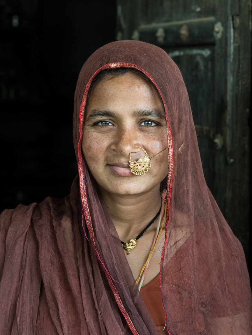 Gypsy girl, Shahpura, Rajasthan, January 2016