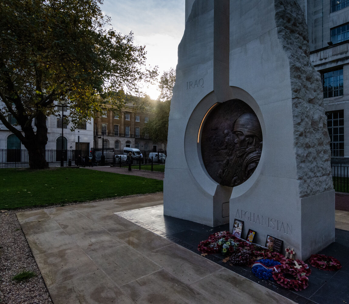 Iraq and Afghanistan Memorial, Victoria Embankment