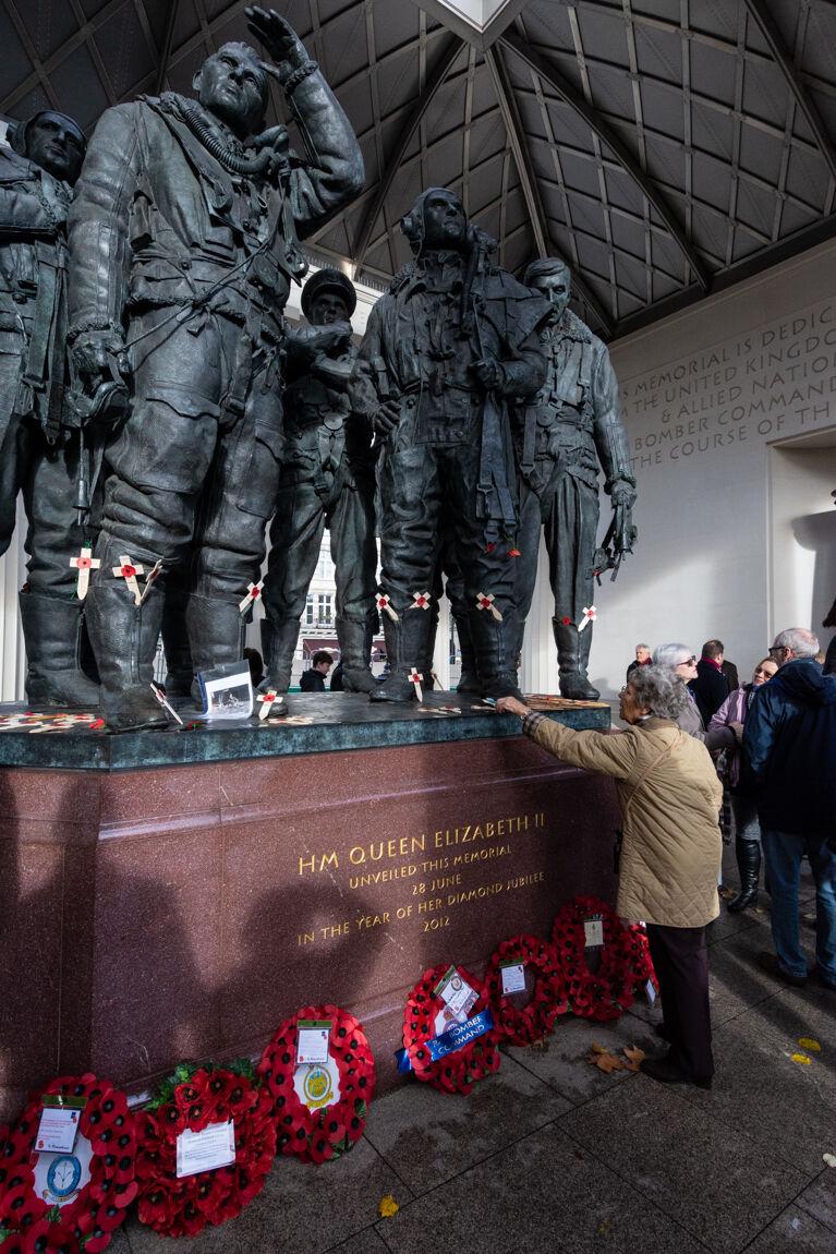 Bomber Command Memorial, Hyde Park Corner