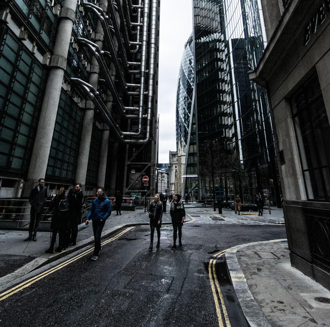 The modern City of London