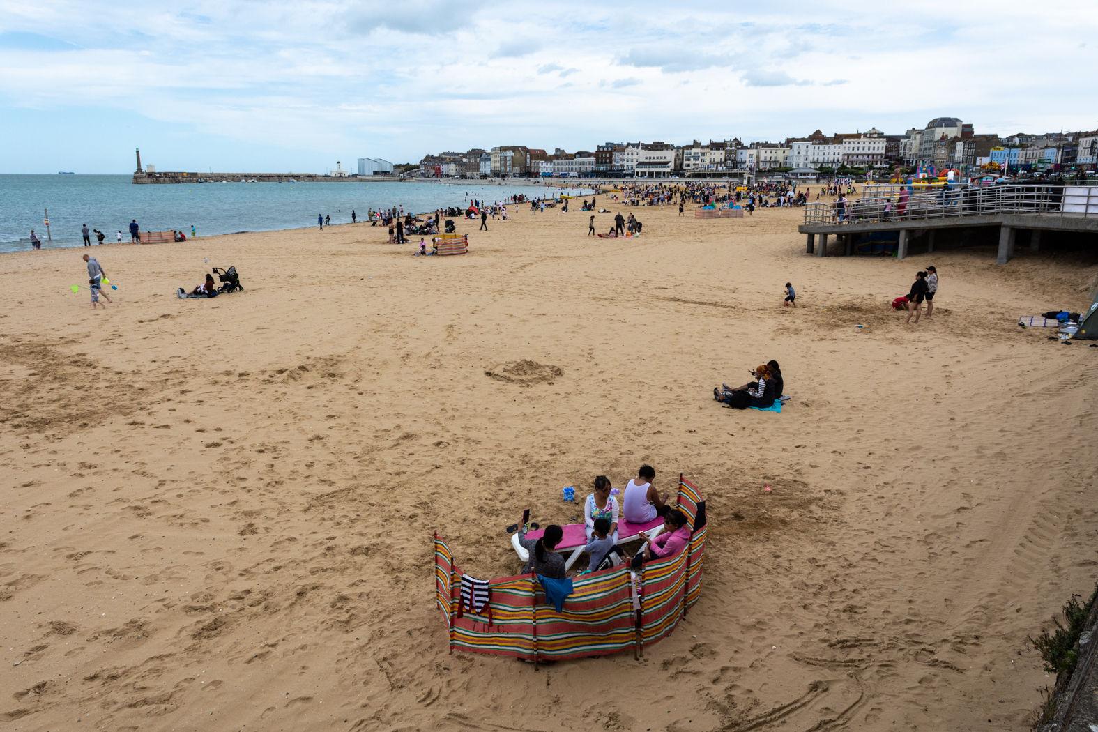 The beach at Margate