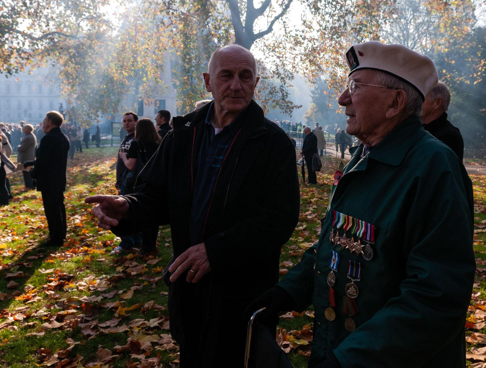 St James's Park, Remembrance Sunday