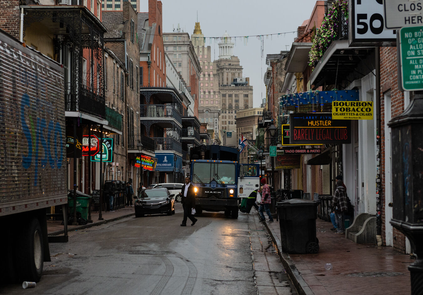 Early morning, New Orleans