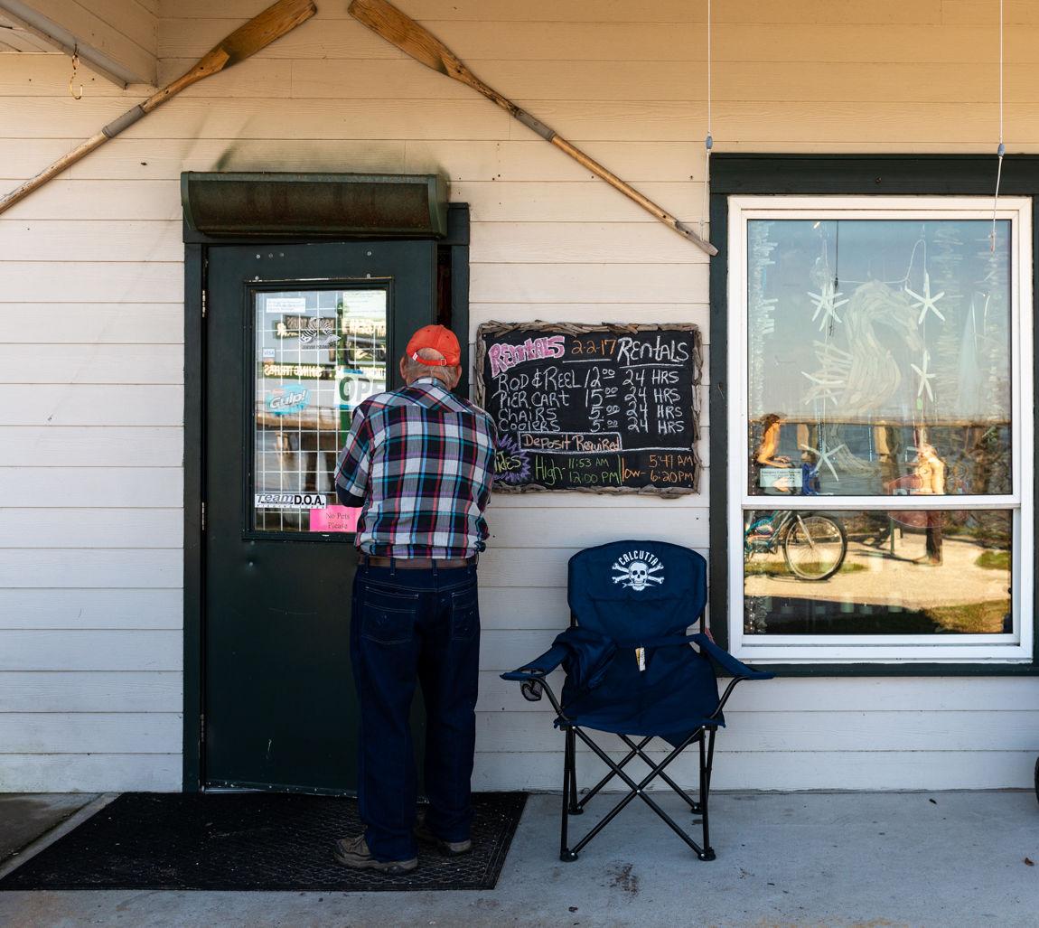 The tackle shop, Jekyll Island, Georgia