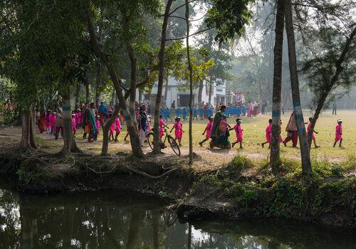 Bawali village, Bengal