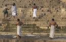 Bathing ghat on the Ganges, Varanasi