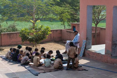 Village school, Ramathra
