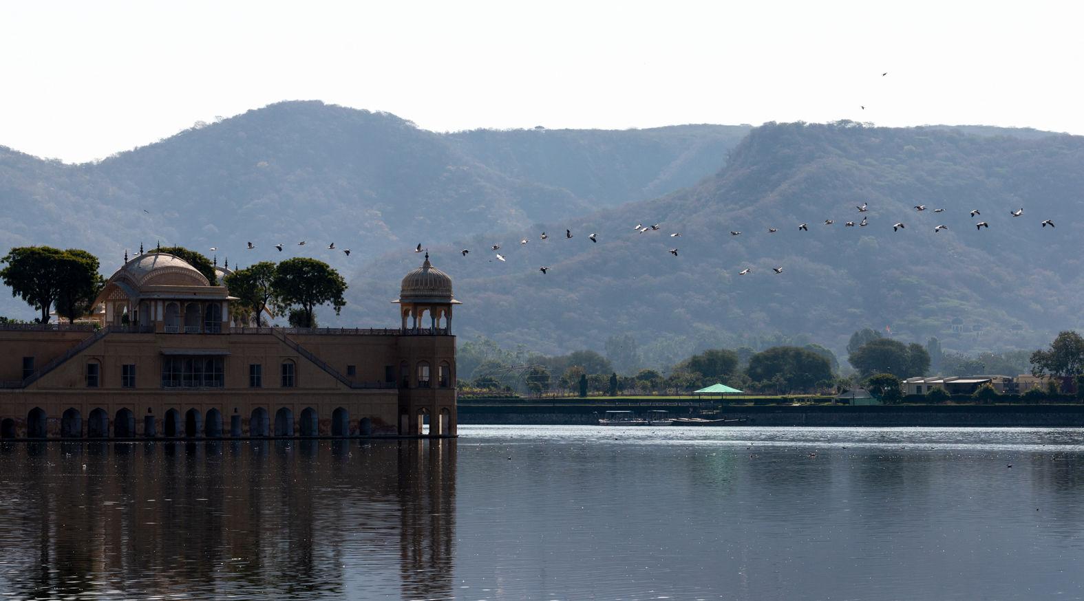 Jal Mahal Palace, Man Sagar Lake, Jaipur