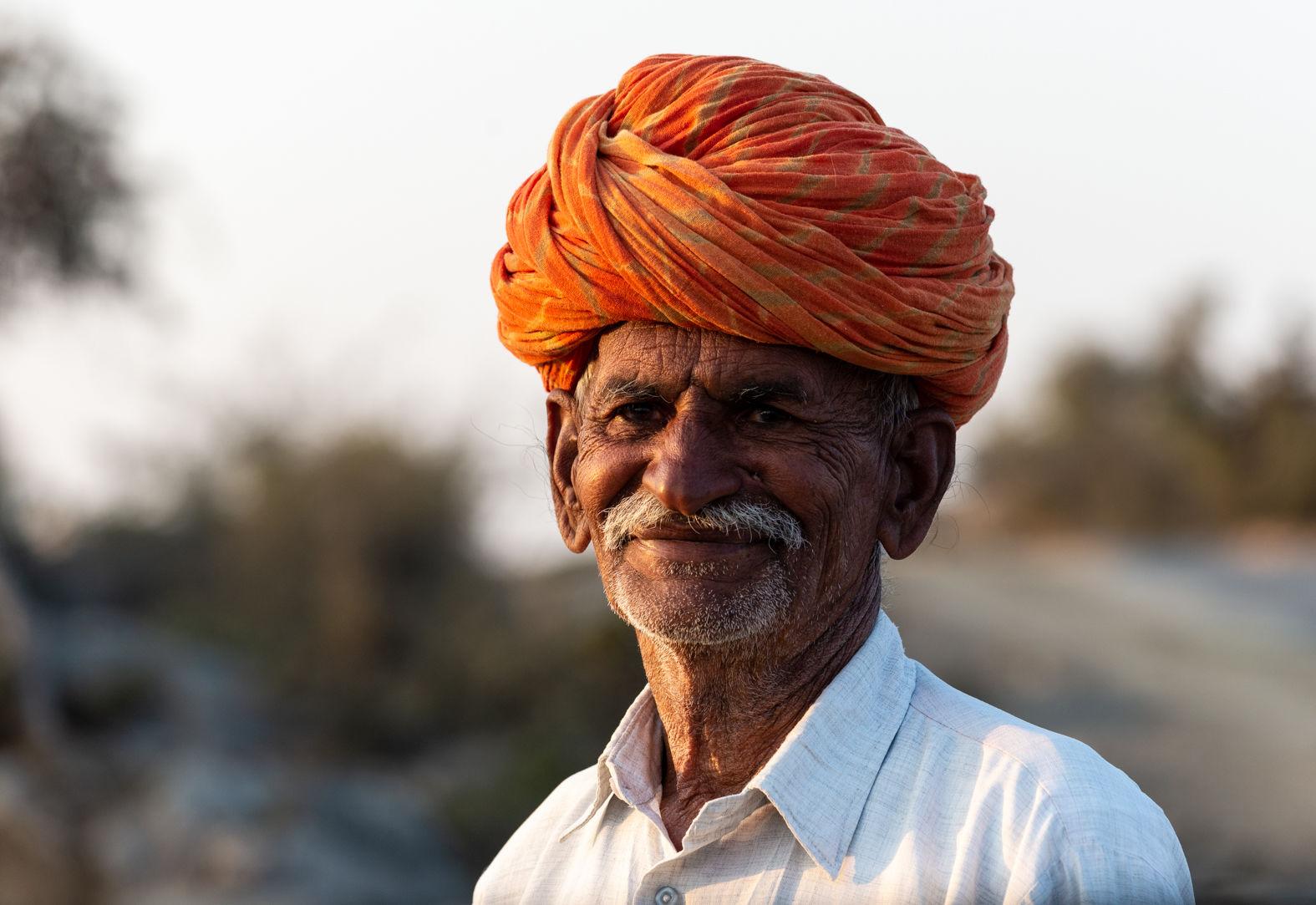 A farmer, Deogarh, Rajasthan